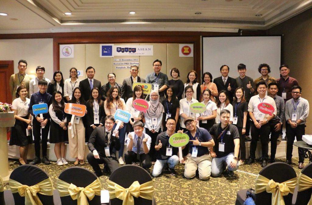 Sinh Viên Khoa Viễn Thông 2 Tham Dự Hội Trại Dream Asean Tại Thái Lan