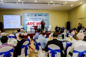 Khoa VT2 tổ chức thành công hội nghị quốc tế ATC'18