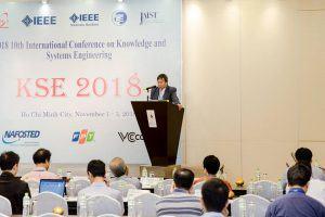 Khoa VT2 tổ chức thành công hội nghị quốc tế KSE 2018
