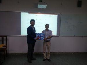 Đón tiếp GS. Sunghwan Kim, ĐH Ulsan, Hàn Quốc đến thăm HVCS