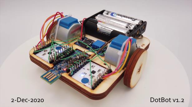 [Thông tin học bổng: Building a 1,000 Robot Swarm Testbed]