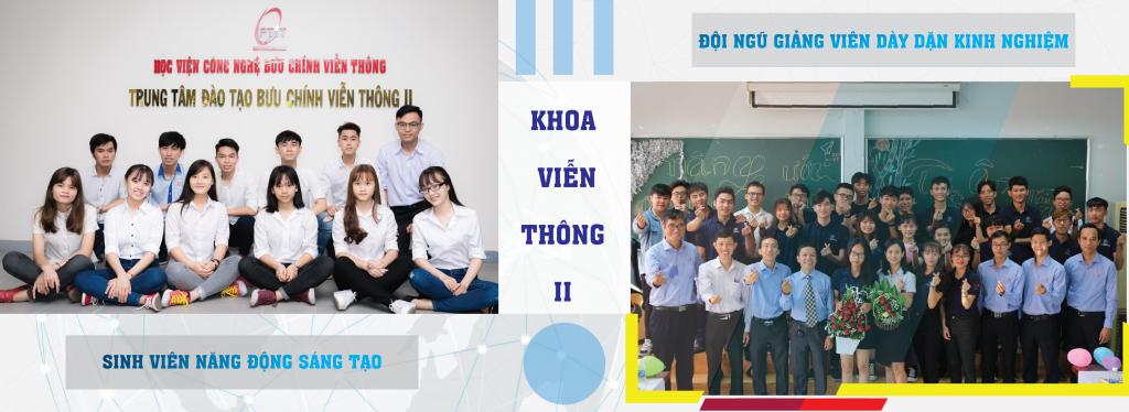 Các sinh viên cùng các thầy cô ngành kỹ thuật điện tử viễn thông