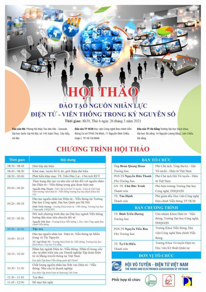 Chương trình hội thảo ngành điện tử viễn thông