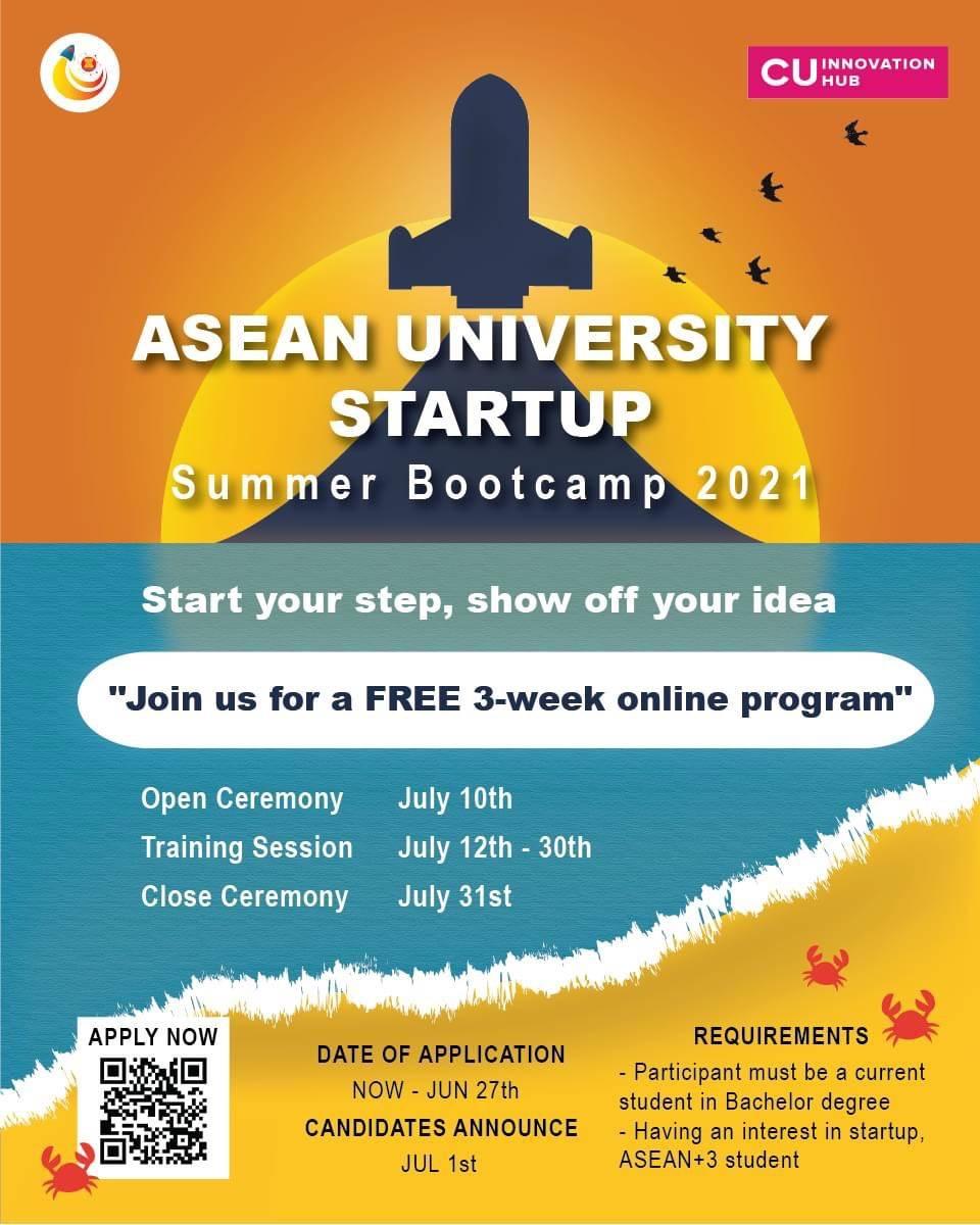 [Chương trình Startup Summer Bootcamp của ĐH Chulalongkorn, Thái Lan]