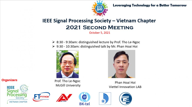 [Sinh viên Khoa Viễn Thông 2 tham gia hội thảo chào mừng ngày IEEE]